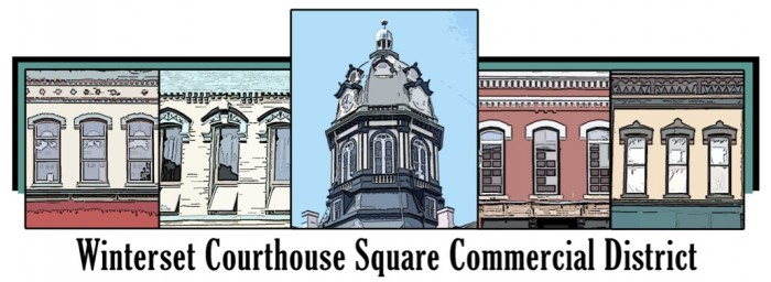 winterset courthouse square commercial district